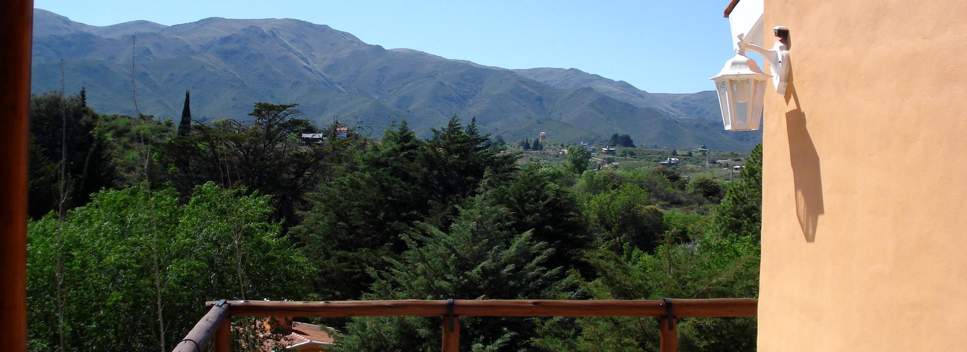 Vista desde Cabaña Los Caracoles